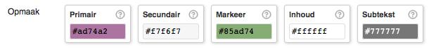 WooCommerce versie 2.2.11 of lager kleuren aanpassen
