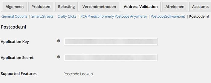 Postcode nl API