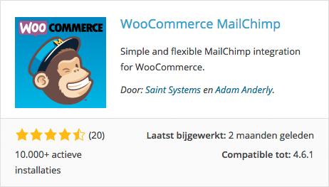 woocommerce mailchimp plugin